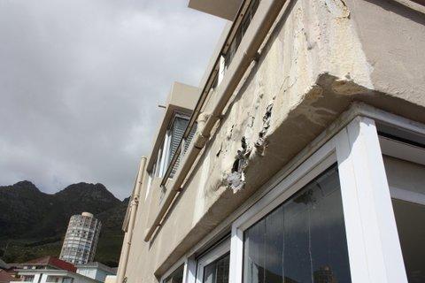 Balcony Damp